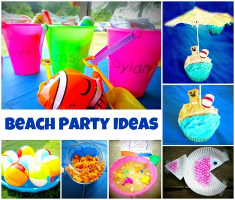 themes party games ocean activities