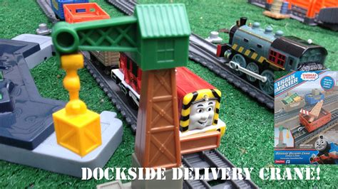 Friends Feature Cargo Pack Dhc73 unboxing new and friends trackmaster dockside
