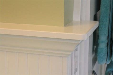 Wainscoting With Shelf by Shelves On Top Of Wainscoating Oh Yea House Of Ours