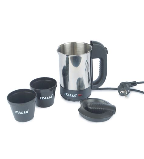 Dhaulagiri Travel Kettle 0 8 L italia ik1403 travel 0 5l kettle s s by italia