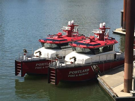 boat lettering portland oregon portland fire rescue names our new twin fireboats photo