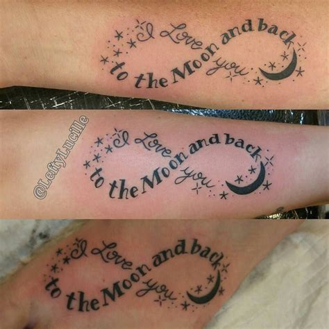 kid tattoos for mom matchingtattoos for a and two daughters