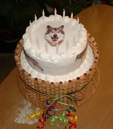 Wolf Cake Decorations by Wolf Birthday Cake Cakecentral