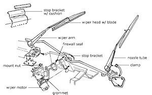 repair windshield wipe control 1999 hyundai accent auto manual windshiled wiper motor repair autometrics