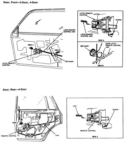 latch diagram door latch door latch assembly diagram