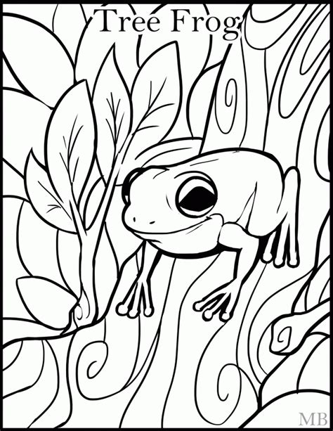 coloring pages of tree frogs tree frog coloring pages coloring home