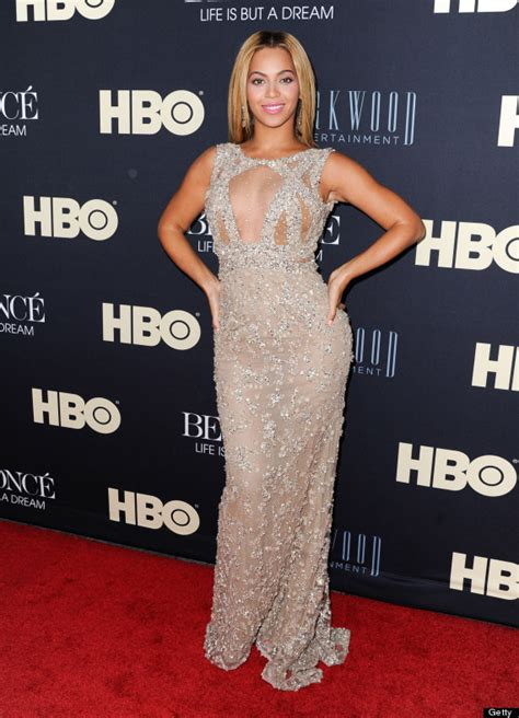 Who Wore Elie Saab Better Solange Knowles Or Dita Teese by Beyonce Documentary Premiere Singer Wears Sparkly Sheer