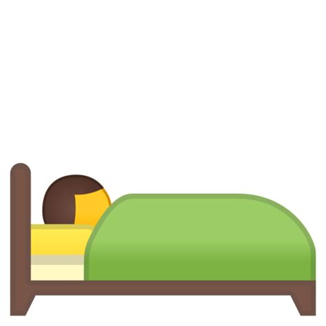 bed emoji person in bed emoji