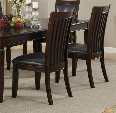 walnut dining room sets ramona 7 piece walnut finish casual dining room set
