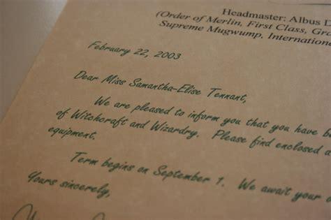 Hogwarts Acceptance Letter Set Create A Hogwarts Acceptance Letter Set Fiverr