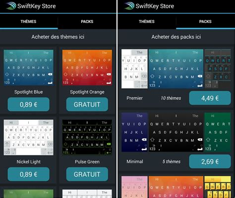 swiftkey themes store le clavier virtuel swiftkey devient gratuit et propose un