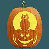 Owl Pumpkin Stencils | 500 x 500 jpeg 27kB