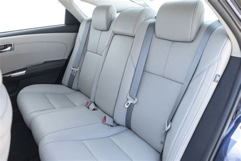 the most comfortable car seats for driver 5 sedans with seriously good second row middle seats