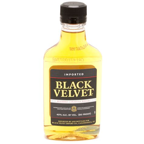 black velvet wine black velvet canadian whiskey 200ml beer wine and