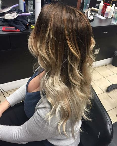 honey brown hair with blonde ombre dark honey blonde balayage dark brown hairs