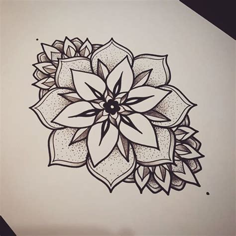 mandala tattoo draw on instagram