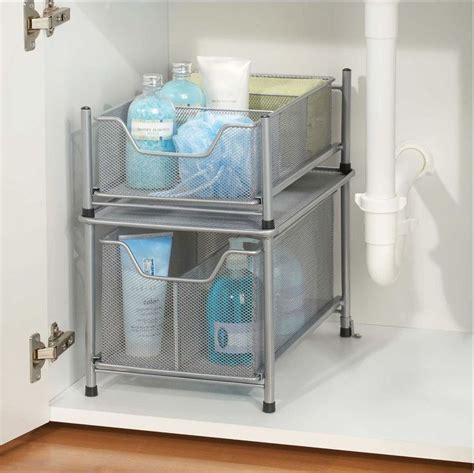 under sink bathroom organizer 1000 ideas about under sink storage on pinterest