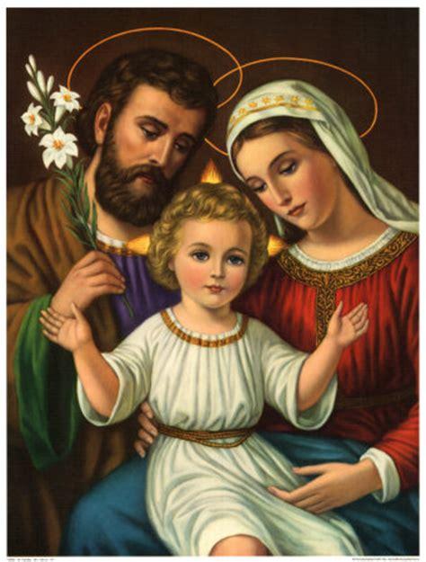 imagenes de la familia sagrada imagenes religiosas la sagrada familia san jose la