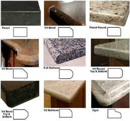 Granite Countertop Edges Countertop Edge Details The Homesource