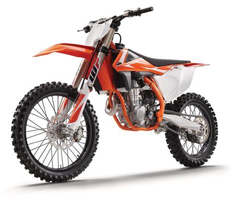 2018 ktm 350 xcf look 2018 ktm sx models motocross feature stories