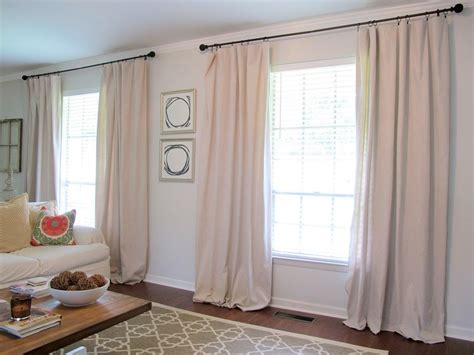 how to make drop cloth drapes drop cloth curtains diy gorgeous curtains for your room