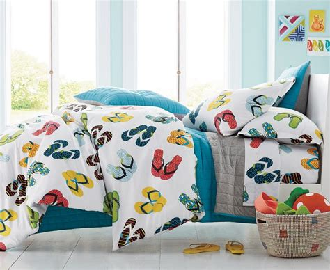 flip flop bedding flip flop percale bedding get ready for summer anytime