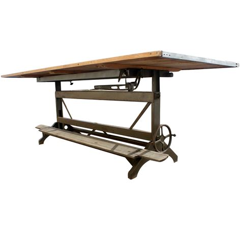 hamilton manufacturing company drafting table midcentury retro style modern architectural vintage