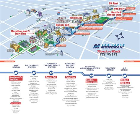 las vegas tram map lvmc marathonmap revised 11x9 las vegas monorail