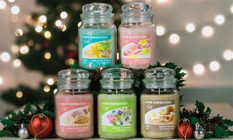 candele profumate 5 candele profumate yankee candle groupon