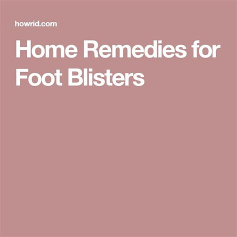 17 best ideas about blister remedies on useful