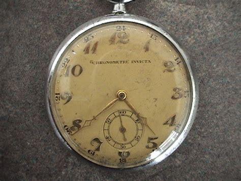 chronometre invicta pocket catawiki