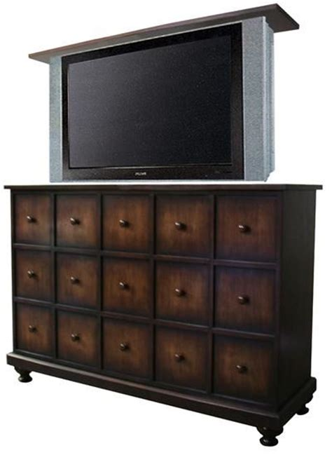 hidden tv lift cabinet hidden tv for master apothecary tv lift cabinet from the