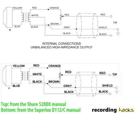 wiring diagram for condenser microphone wiring get free
