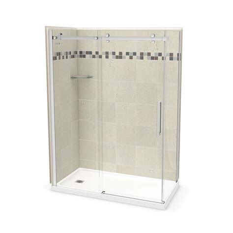 Home Depot Maax Shower by Utile By Maax 32 In X 60 In X 83 5 In Corner Shower Kit