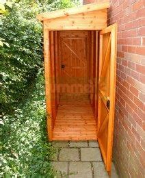 narrow storage shed shiplap pent roof small storage shed