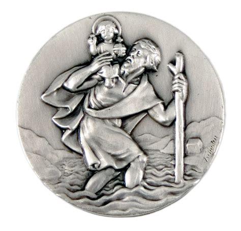 Aufkleber Christophorus by Christophorus Medaille D 252 Nne Form Bei Kirchliche Kunst De