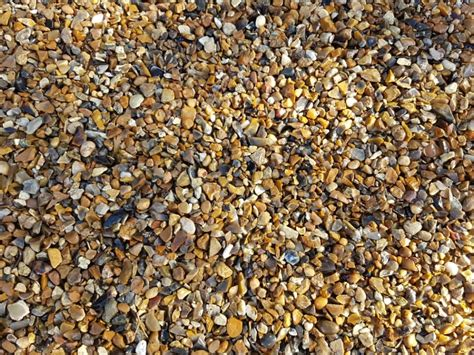 Pea Pebbles Bulk Bulk Bag 10mm Pea Gravel Shingle 850kg Drainage