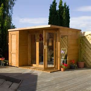 8x6 Shiplap Shed 10 X 8 Waltons Contemporary Summerhouse With Side Shed Rh