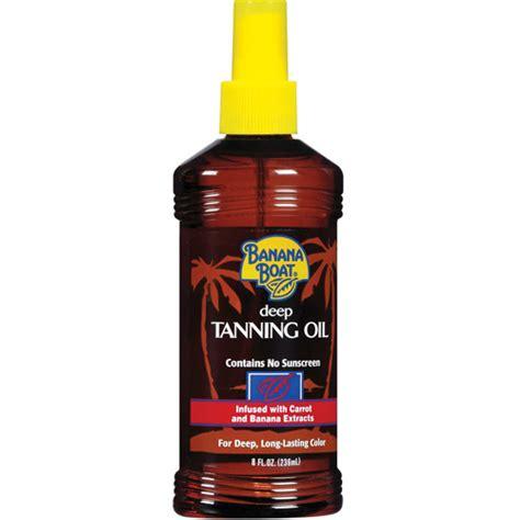banana boat sunscreen for dark skin banana boat deep tanning oil spray contains no sunscreen