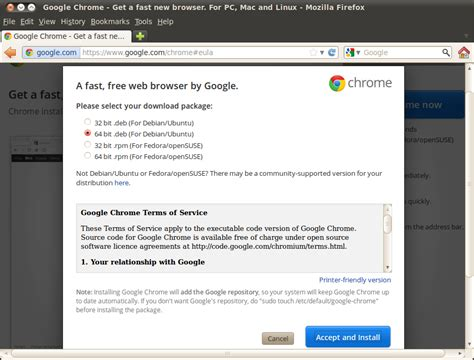chrome ubuntu ubuntu google chrome install on lts 10 04 linuxmoz