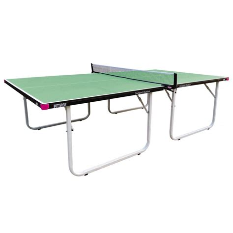 tennis rubber sts butterfly compact 10 wheelaway outdoor table tennis table