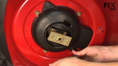 troy bilt lawn mower repair   replace  drive