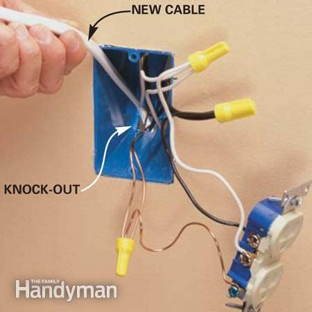 how to install an outlet another outlet wiring