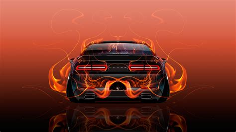 red orange cars yellow and black dodge charger car autos gallery