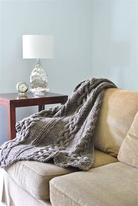 cable knit blanket king size a gorgeous knit thow adds a cozy autumnal touch to