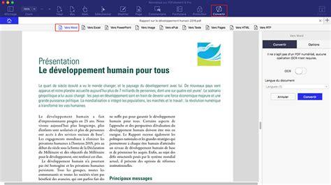 convert pdf to word instructions convertir word vers pdf mac