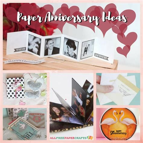 Handmade Gift Ideas For Anniversary - anniversary gifts by year 12 paper anniversary