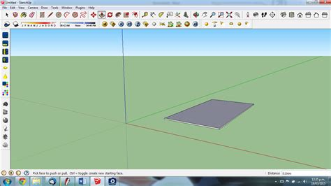 sketchup tutorial airplane architecture rendering quick realistic grass in sketchup