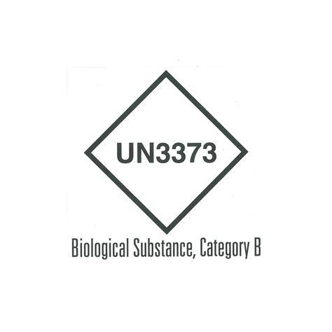 printable un3373 label hazard labels category b un3373