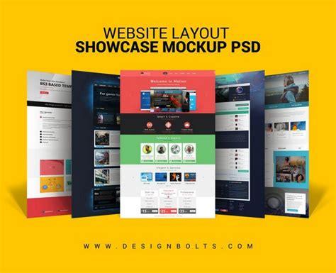 layout design psd 20 best website psd perspective mockups design shack